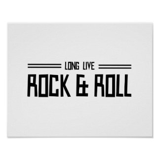 Long Live Rock & Roll Poster