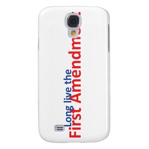 Long live the 1st Amenedment Samsung Galaxy S4 Cases