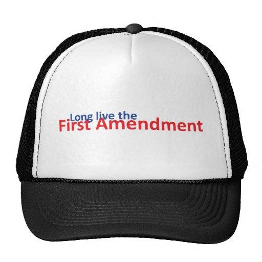 Long live the 1st Amenedment Trucker Hats