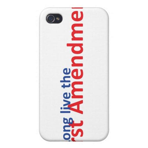 Long live the 1st Amenedment iPhone 4 Case