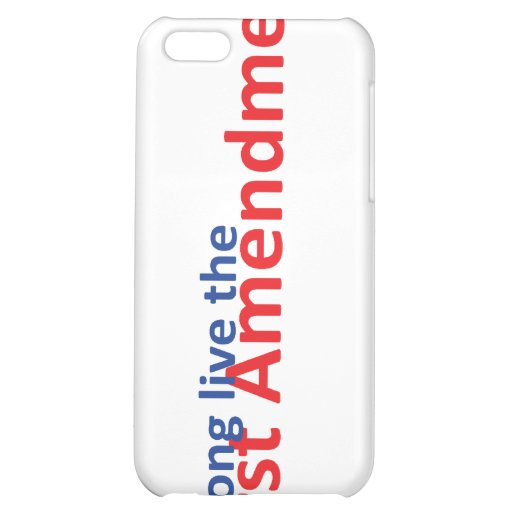 Long live the 1st Amenedment iPhone 5C Cases