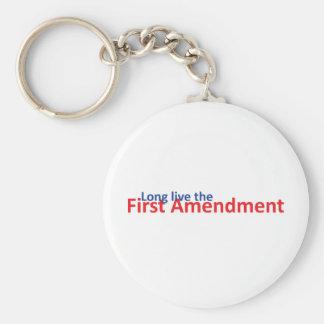 Long live the 1st Amenedment Keychain