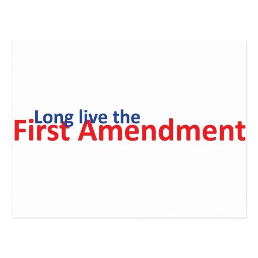 Long live the 1st Amenedment Post Card