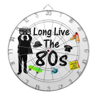 Long Live The 80s Culture Dart Boards