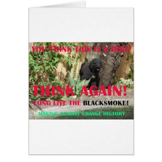 LONG LIVE THE BLACKSMOKE CARD