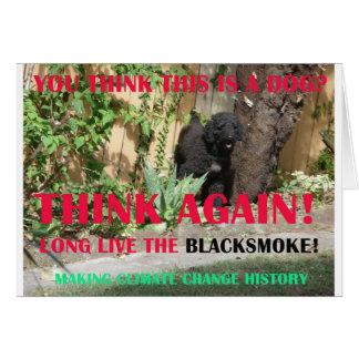 LONG LIVE THE BLACKSMOKE GREETING CARDS