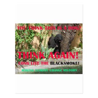 LONG LIVE THE BLACKSMOKE POSTCARD