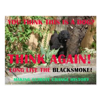 LONG LIVE THE BLACKSMOKE POSTCARDS