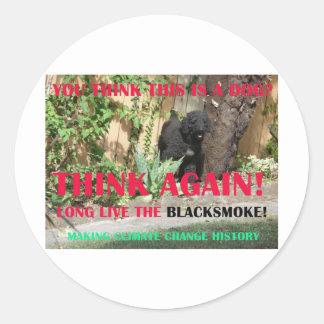 LONG LIVE THE BLACKSMOKE STICKER