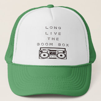 Long Live The Boom Box-Hat Trucker Hat