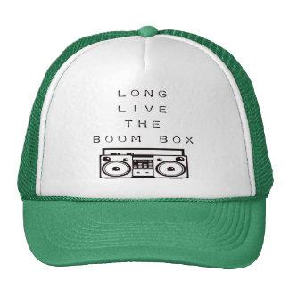 Long Live The Boom Box-Hat Trucker Hat