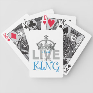 Long Live The King Bicycle Playing Cards