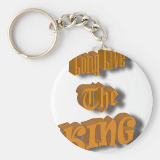 Long Live The King Nice Design transparant Keychain
