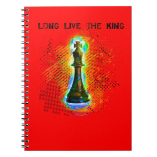 Long Live the King notebook