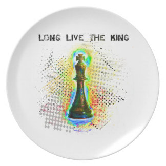 Long Live the King Plate