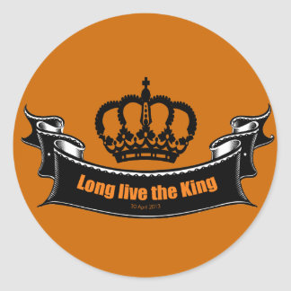 Long live the King Stickers
