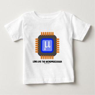 Long Live The Microprocessor (Geek Humor) Baby T-Shirt