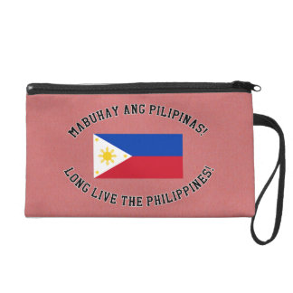 Long Live The Philippines! Wristlet
