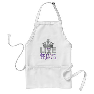 Long Live the PRINCE! Adult Apron