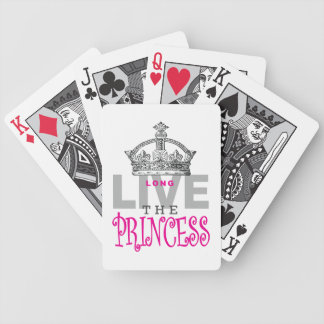 Long Live The Princess Bicycle Playing Cards