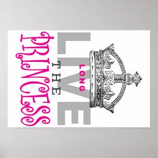Long Live The Princess Poster