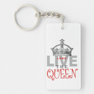 Long Live the QUEEN! Acrylic Keychain