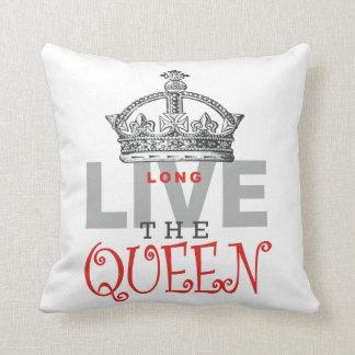 Long Live the QUEEN! Throw Pillow