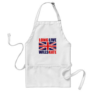 Long Live Wills & Kate Adult Apron
