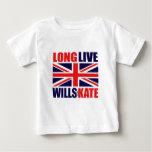 Long Live Wills & Kate Infant Shirt