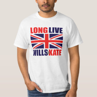 Long Live Wills & Kate T-Shirt