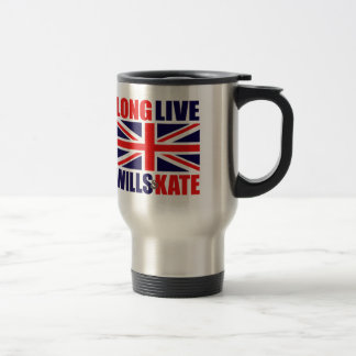 Long Live Wills & Kate Travel Mug