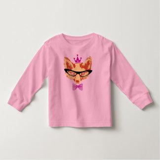 "Long mango Childish ""Fox queen "" Toddler T-shirt"