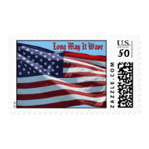 Long May It Wave, American Flag Postage