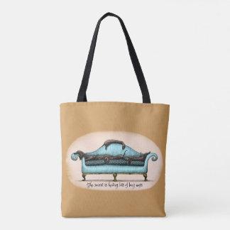 long naps tote bag