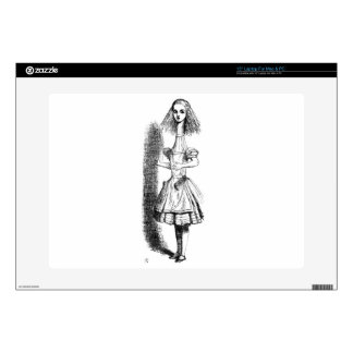 Long Neck Alice Decals For Laptops