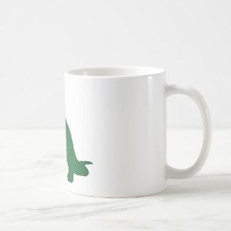 Long Neck Dinosaur Coffee Mug