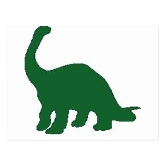 Long Neck Dinosaur Postcard