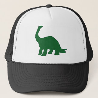 Long Neck Dinosaur Trucker Hat