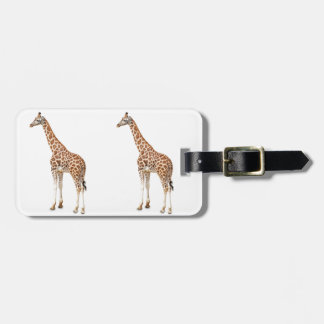 Long Neck Giraffe Luggage Tag