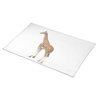 Long Neck Giraffe Placemat