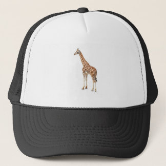 Long Neck Giraffe Trucker Hat