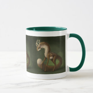 Long-Necked Deer Mug