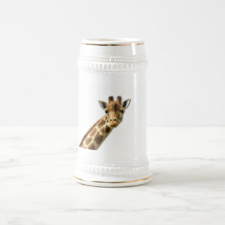 Long Necked Giraffe Beer Stein Coffee Mug