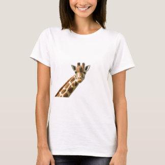 Long Necked Giraffe Ladies T-Shirt