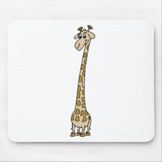 Long Necked Giraffe Mouse Pad