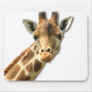Long Necked Giraffe Mouse Pad