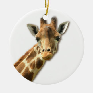 Long Necked Giraffe  Ornament