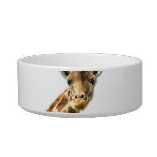 Long Necked Giraffe Pet Bowl