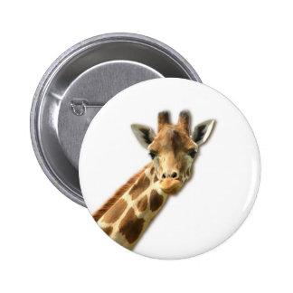 Long Necked Giraffe Pin