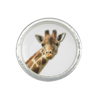 Long Necked Giraffe Ring
